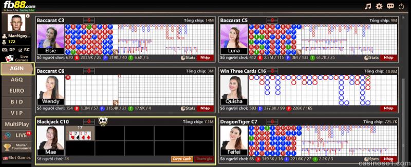 Hướng dẫn cách chơi bài Blackjack online ăn tiền thật tại nhà cái Fb88