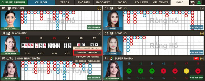 Hướng dẫn cách chơi Blackjack tại nhà cái casino 138bet chi tiết