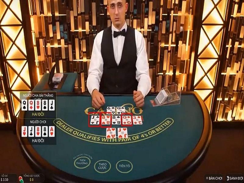 Hướng dẫn chơi bài Poker online tại nhà cái casino HappyLuke