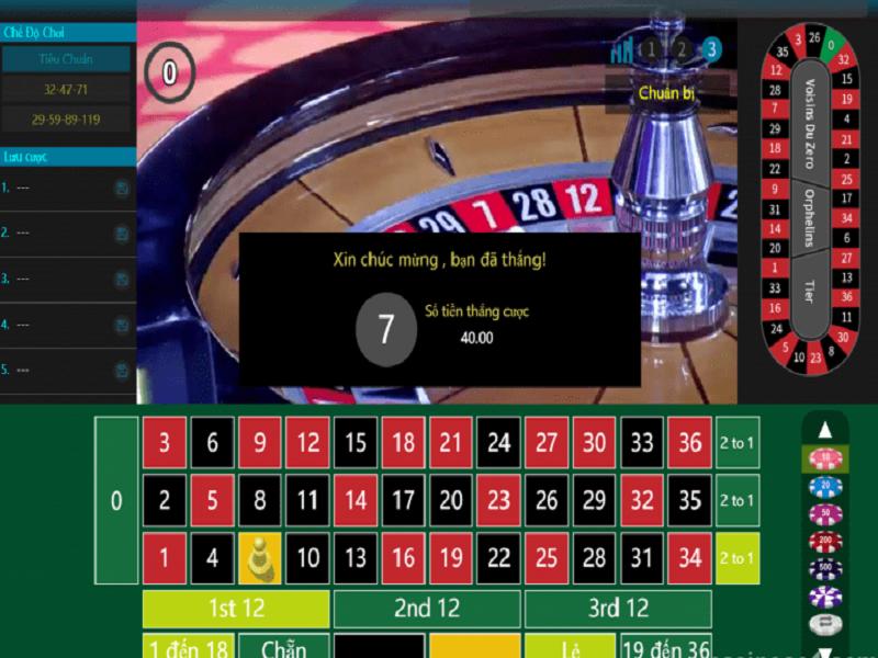 Hướng dẫn chơi Roulette Online tại nhà cái casino Fun88