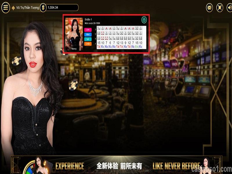 Hướng dẫn chơi tài xỉu sicbo tại nhà cái casino 188Bet