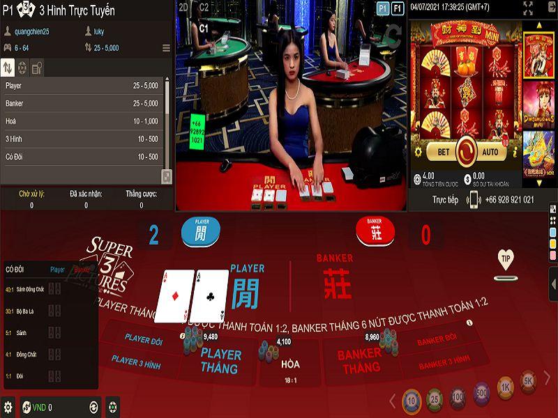 Luật chơi & Cách chơi 3 Hình Trực Tuyến chi tiết tại nhà cái W88