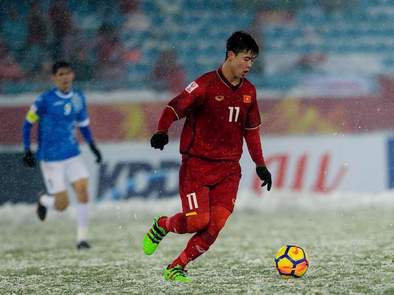 Sự khác nhau giữa ĐT Anh và U23 Việt Nam trên chấm penalty 1