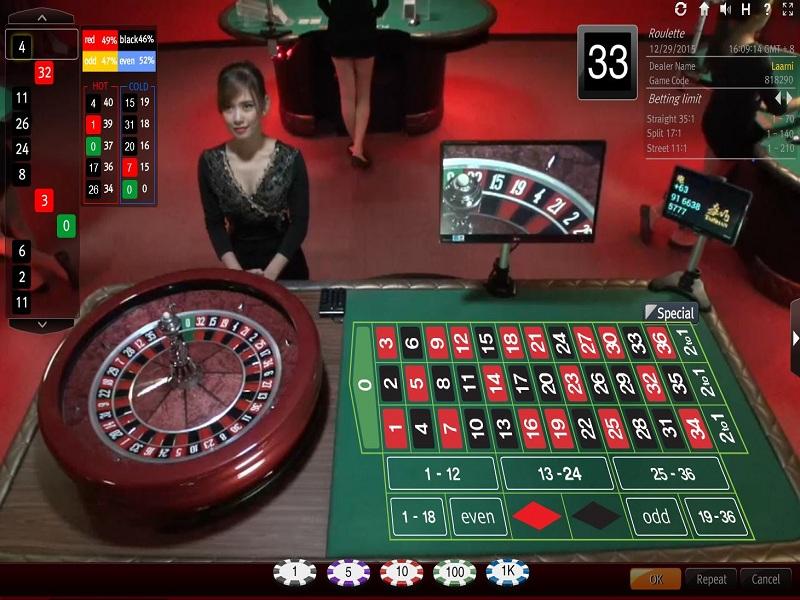 Tìm hiểu 3 lý do khiến nhiều người thua cược trên bàn chơi Roulette