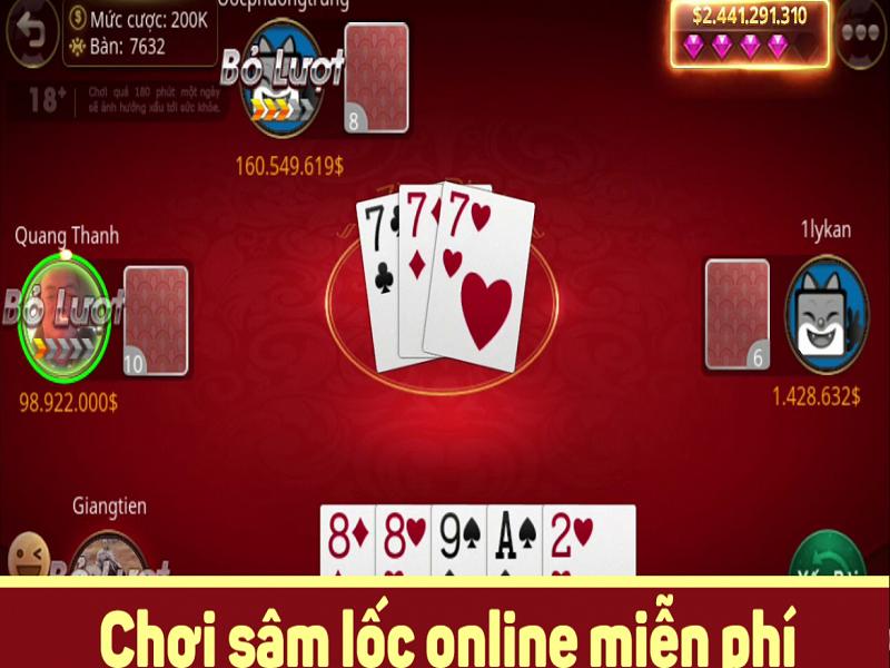 Tìm hiểu cách chơi Sâm lốc online đổi thưởng và cách tính điểm chính xác