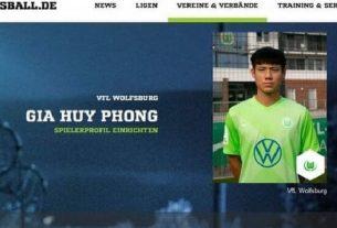 Sao trẻ gốc Việt đang thi đấu ở châu Âu