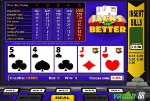 Video Poker là gì? Một số trò chơi video Poker hot nhất hiện nay